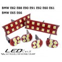 KIT LED INTERNO PLAFONIERA BMW E82 E88 E90 E91 E92 E60 E61 E65 E