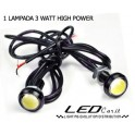 DRL DAYLIGHT UNIVERSALE TIPO MERCEDES 12 LED HIGH POWER