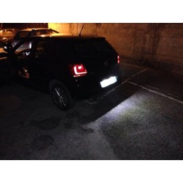 PLAFONIERA TARGA LED NO ERRORE GOLF 4 5 6 LUPO NEW BEETLE POLO S